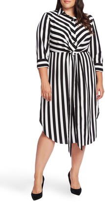 Vince Camuto Stripe Shirtdress