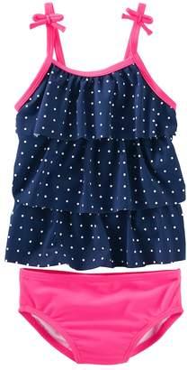Osh Kosh Oshkosh Bgosh Toddler Girl Polka Dot Swimsuit