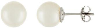 Splendid Pearls 14K 10-10.5Mm South Sea Pearl Studs