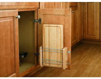 Rev-A-Shelf 4DMCB-15 Door Mount Cutting Board - Wood/Wire