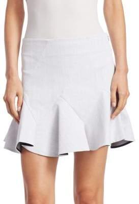 Derek Lam 10 Crosby Mini Godet Skirt