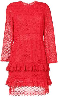 Philosophy di Lorenzo Serafini longsleeved lace dress