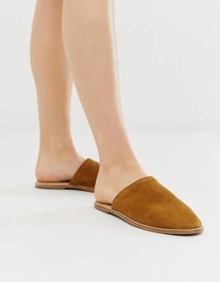 Free People Coronada suede slip on shoe