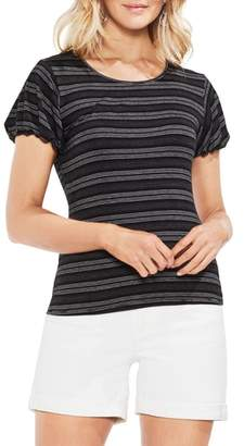 Vince Camuto Striped Short Sleeve Top