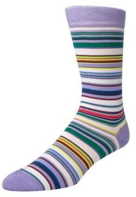 McGregor Mens Striped Crew Socks