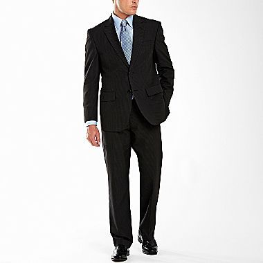 JCPenney Stafford® Essentials Men's Suit Separates,Charcoal