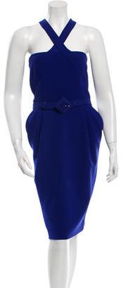 Jean Paul Gaultier Wool Belted Dress $175 thestylecure.com