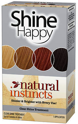 Clairol Natural Instincts Hair Color Shine Happy Treatment 00 Clear Shine