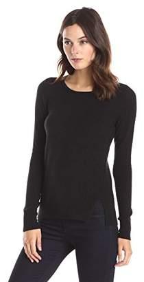 Lark & Ro Women's 100% Cashmere Soft Crewneck Sweater