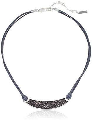 Kenneth Cole New York Sprinkle Stone Bar Necklace