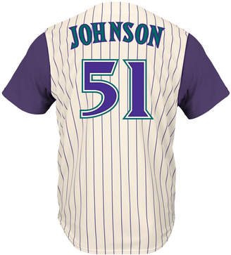 Majestic Men Randy Johnson Arizona Diamondbacks Cooperstown Player Replica Cb Jersey