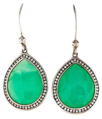 Ippolita Diamond & Amazonite Lollipop Drop Earrings