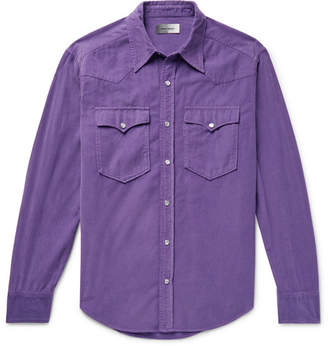 Isabel Marant Vigo Cotton-Corduroy Western Shirt