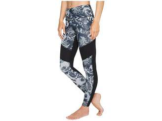 The North Face Motivation Mesh Leggings (TNF Black Roses Print