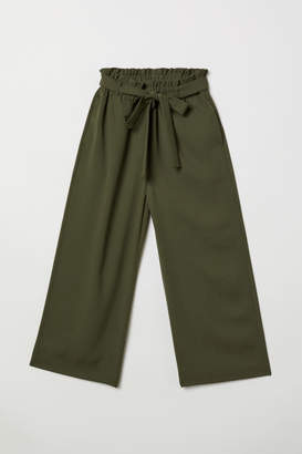 H&M Ankle-length Pants - Green