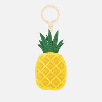 Kate Spade Women's Leather Pineapple Keychain - Multi