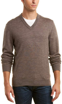 Qi Wool V-Neck Sweater