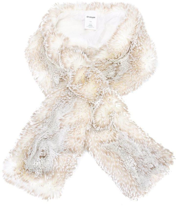 ChalayanChalayan faux fur scarf