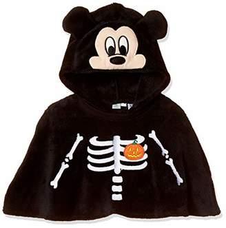 Disney (ディズニー) - [ディズニー] ミッキーなりきりケープ 332109022 ボーイズ クロ 日本 95 (日本サイズ95 相当)