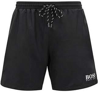 HUGO BOSS Drawstring swim shorts with logo detail