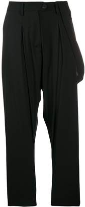 Isabel Benenato high waisted tailored trousers