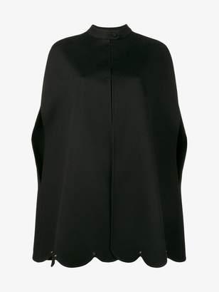 Valentino scalloped cape