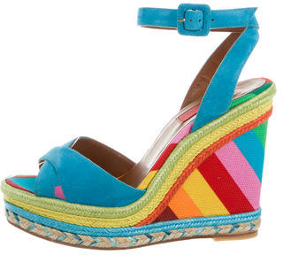 Valentino Valentino 1973 Wedge Sandals