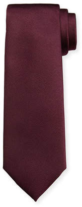 Salvatore Ferragamo Men's Istamb Solid Silk Twill Tie 6