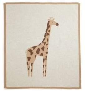 Lucky Jade Baby's Cashmere-Blend Cameron Giraffe Blanket
