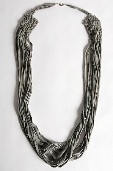 UO Chain & Jersey Necklace