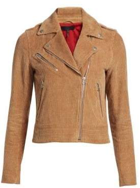 Rag & Bone Mercer Moto Cord Jacket