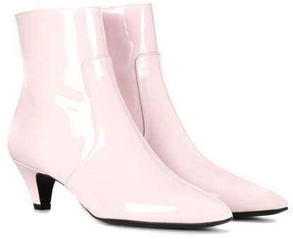 Calvin Klein 205W39NYC Kat patent leather ankle boots