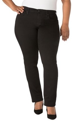 Levi's Women's Plus Curvy Straight Jeans