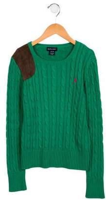Ralph Lauren Boys' Cable Knit Sweater