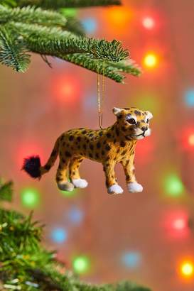 Urban Outfitters Cheetah Christmas Ornament