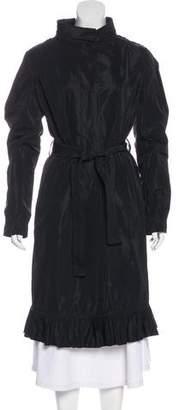Dolce & Gabbana Notch Lapel Long Coat