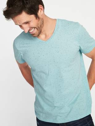 Old Navy Soft-Washed Textured Neps V-Neck Tee for Men