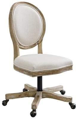 Linon Home Décor Linon Avalon Rolling Dining Chair