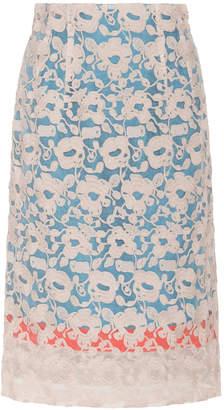 Tsumori Chisato Embroidered Organza Skirt