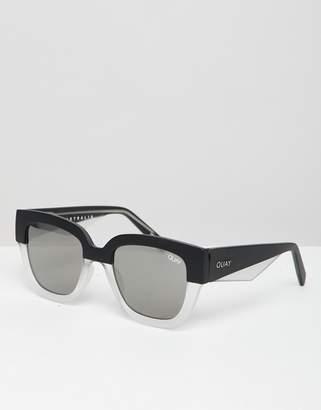 Quay dont stop square frame sunglasses