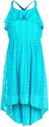 Sequin Hearts Big Girls Lace Maxi Dress