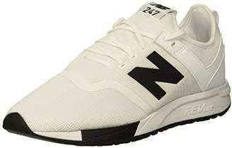 e2539623aef42 New Balance Men's Mrl247d3 Trainers, (White/Black D3), 12.5 (47.5