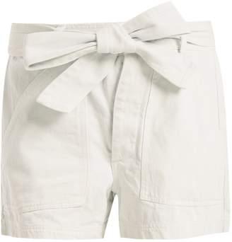 Apiece Apart Merida high-waist denim shorts