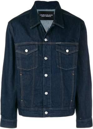 Calvin Klein Jeans Warhol Portrait trucker jacket