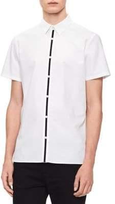 Calvin Klein Short-Sleeve Woven Shirt