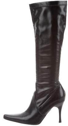 Donald J Pliner Leather Knee-High Boots