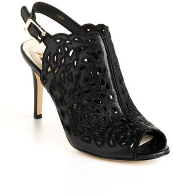 Vince Camuto SIGNATURE Roni Leather Laser-Cut Sandals