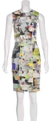 Yigal Azrouel Printed Sleeveless Dress
