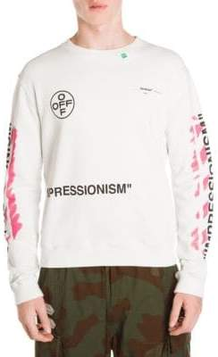 Off-White Diagonal Stencil Sweatshirt