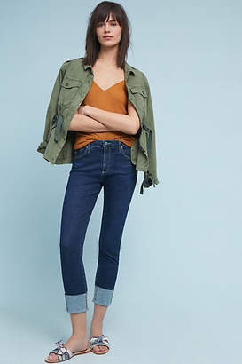 AG Jeans The Stevie High-Rise Skinny Ankle Jeans